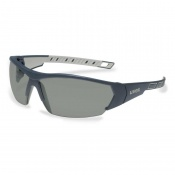 Uvex i-Works Grey Tinted Safety Glasses 9194-270