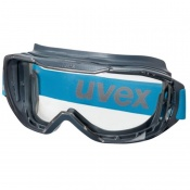 Uvex Megasonic Chemical-Resistant Polycarbonate Safety Goggles 9320265