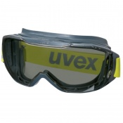 Uvex Megasonic Chemical-Resistant Sun Glare Safety Goggles 9320281