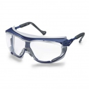 Uvex Skyguard NT Blue-Framed Clear Safety Glasses 9175-260