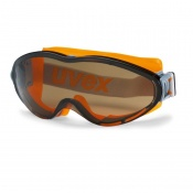 Uvex Ultrasonic Brown-Tinted Safety Goggles 9302-247
