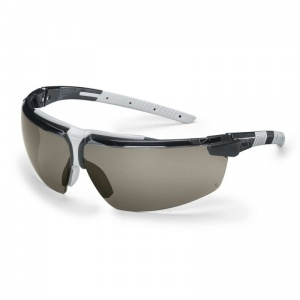 Uvex i-3 Grey Anti-Glare Safety Glasses 9190-281