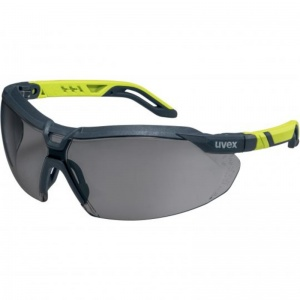 Uvex i-5 Lime Anti-Dust Sun Glare Safety Glasses 9183281