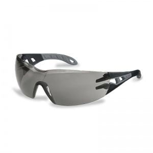 Uvex Pheos S Grey Anti-Glare Safety Glasses 9192-786