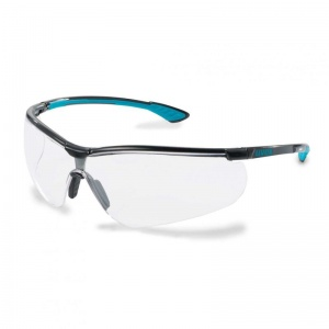 Uvex Sportstyle Clear Safety Glasses 9193-376