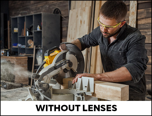 Yellow lenses can be used to enhance vision in low light